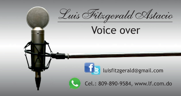 Voice Over  / Locutor Comercial