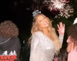 Mariah Carey espera año nuevo en Punta Cana